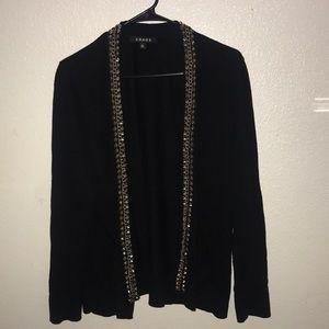 3for$20 Chaus black cardigan